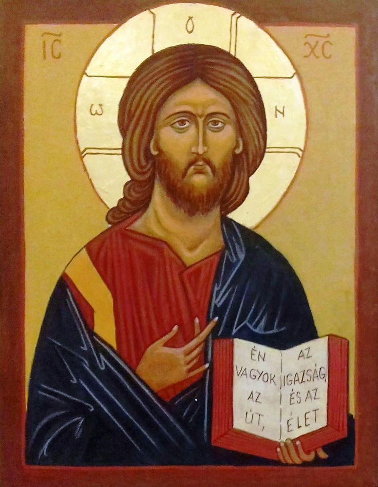 Krisztus Pantokrátor Andrej  Rubljov Oroszország XV. század