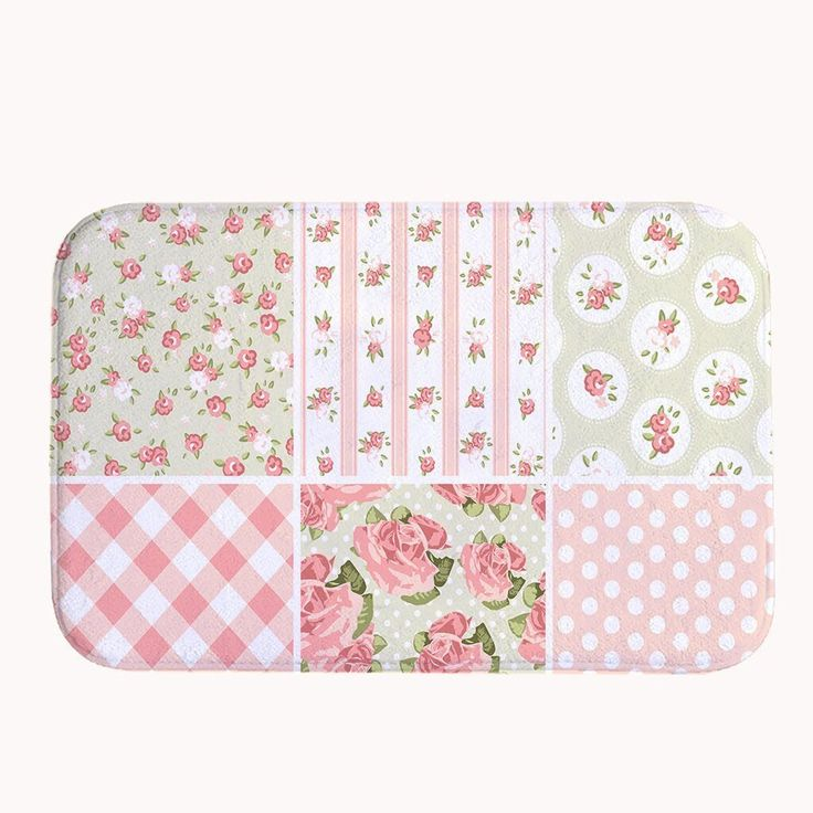 Crystal Emotion Pink Shabby Chic Bath Mat Coral Fleece Area Rug Door Mat Entrance Rug Floor Mats * See this great product. (This is an affiliate link and I receive a commission for the sales)