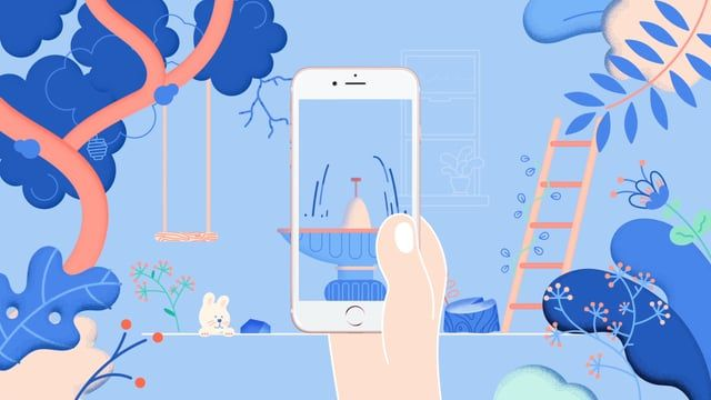 Collaboration with www.behance.com/victoire for the Symbiosis App project.  — In a mobile application, your virtual plant evolves according to your physical activity.