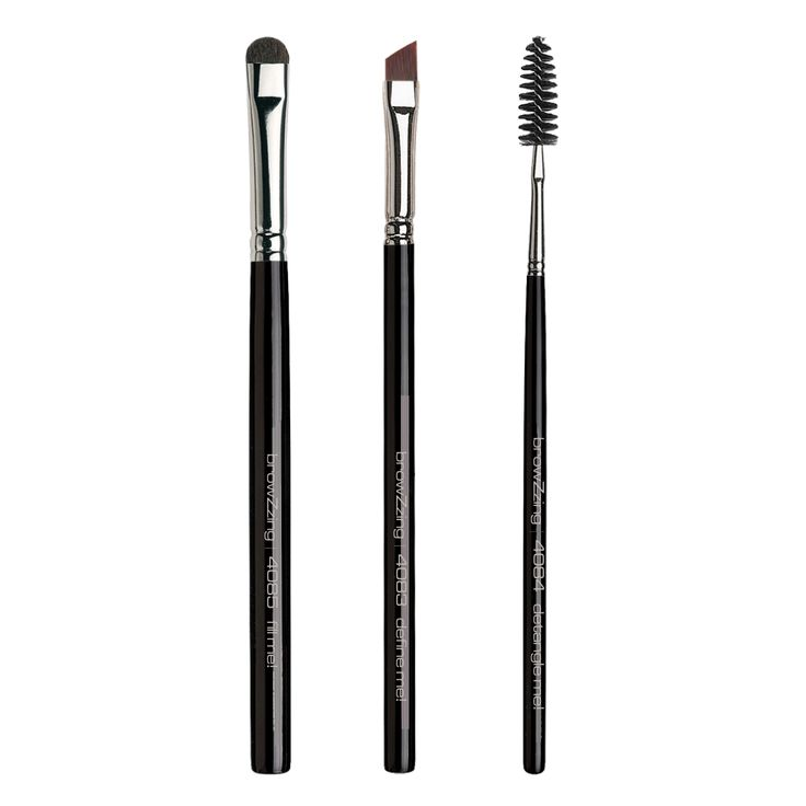 NEW: the 3 #browZzing #eyebrowbrushes are made for perfect eyebrows: fill me! for natural volume, define me! for exact definition and detangle me! for combing and softening! Check them out at http://browzzing.com/produkte/augenbrauen-pinsel/index.php#.U4HlU_l_sqQ