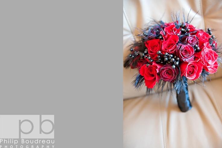 RED/BLACK Bouquet (www.unicodecor.com) Pic. by Philip Boudreau Photography