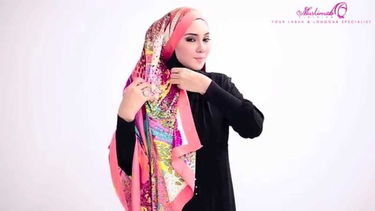 All About Square Scarf - Shawl Tutorial by Muslimah Clothing Couture