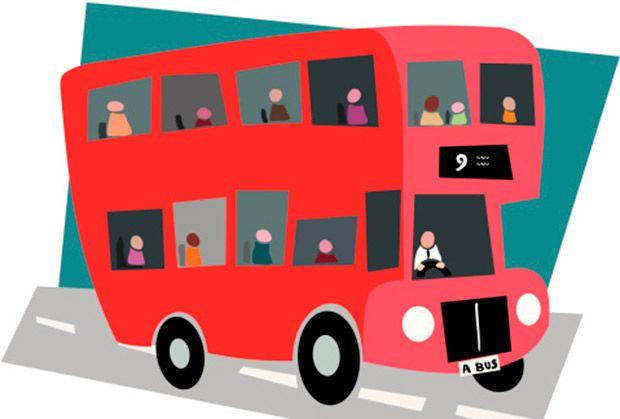 Viajar en #autobus con un #bebé