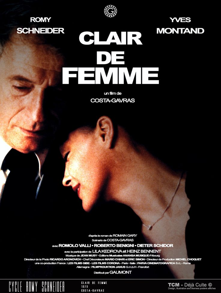 Clair De Femme (Chiaro Di Donna/Die Liebe Einer Frau/Womanlight) 1979…