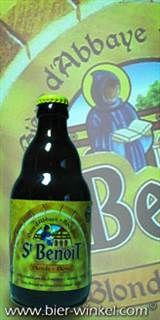 St Benoit Blond fles á 33cl