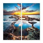 The beauty of the world inspires Elementem and its team of shutterbugs. From the quietude of the ocean to brilliant city skylines, these breathtaking pictures celebrate both built and natural environments. Each image consists of lushly colored panels with a laminate finish for contemplation and preservation.