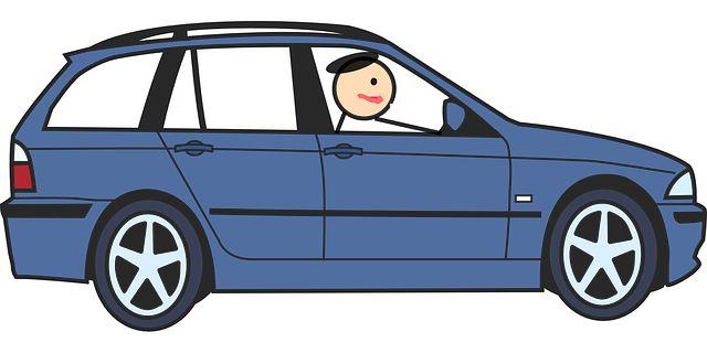 Бесплатное изображение на Pixabay - Автомобиль, Вождение, Синий