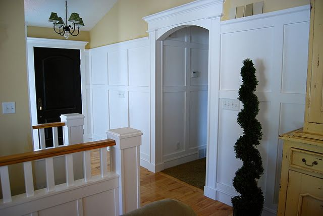 How To Trim Out An Arched Doorway Like The One Between My