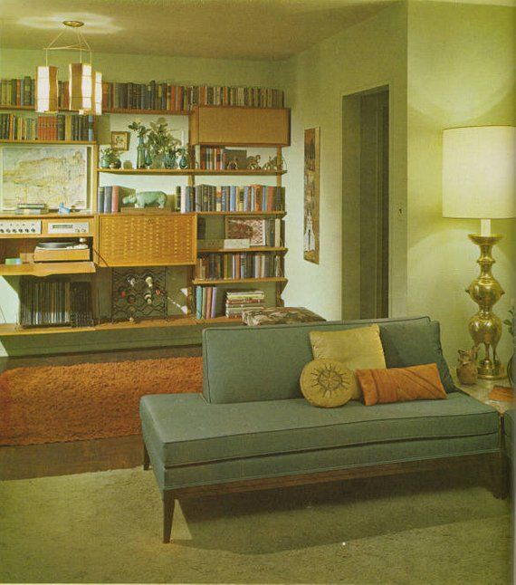 Vintage Interior Design Book Interior Decoration A To Z By Etsy