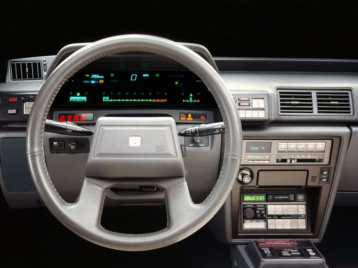 Interior Of Toyota Cressida 1984