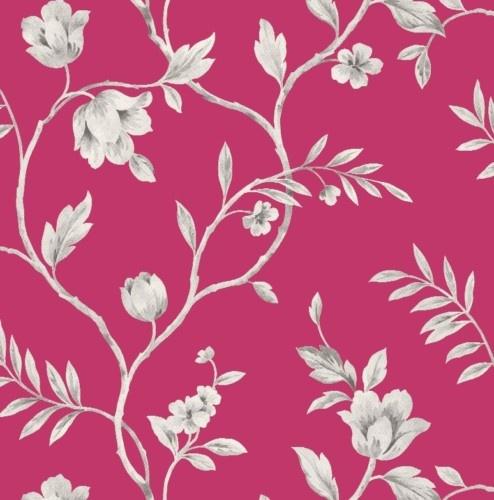 Feature Wallpaper Trail Black Pink Yellow Silver Grey | eBay