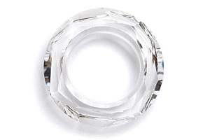 Swarovski® 20mm crystal clear cosmic ring pk1