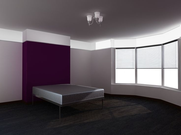 Gray Bedroom With Purple Accents 112 best house color all - paint on walls images on pinterest