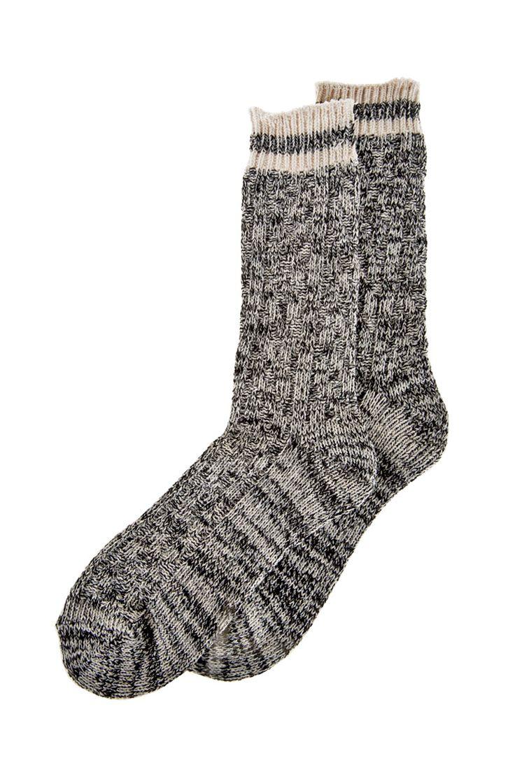 Striped Cabin Socks
