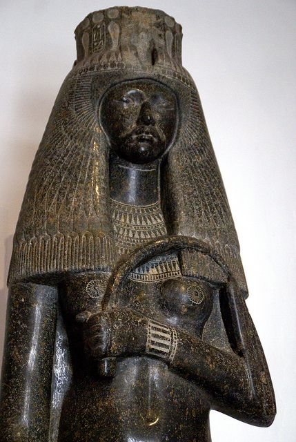 Queen Tuya, wife of Pharaoh Seti I of Egypt and mother of Ramesses II. Dynasty 19