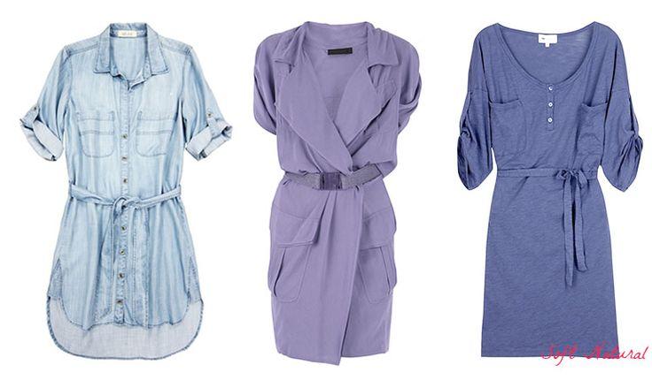 Shirtdresses for Soft Natural (Kibbe). Typ urody Soft Natural – uwodzicielka