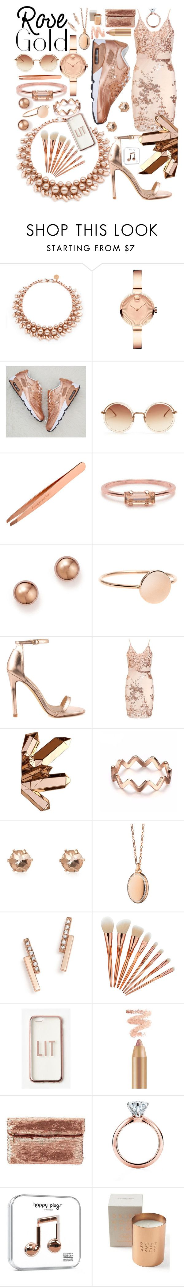 """""""Untitled #92"""" by megan-hopkins-2 ❤ liked on Polyvore featuring Ellen Conde, Movado, Linda Farrow, Bing Bang, Bloomingdale's, Liliana, River Island, Monica Rich Kosann, ZoÃ« Chicco and Missguided"""