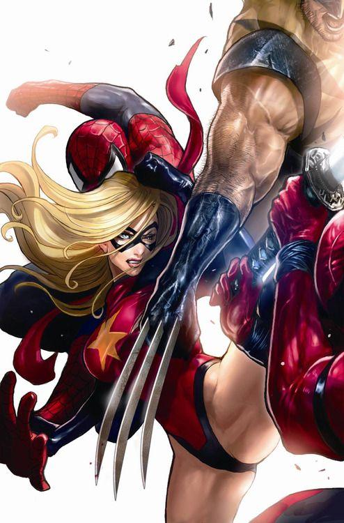 Marvel Girls Porn