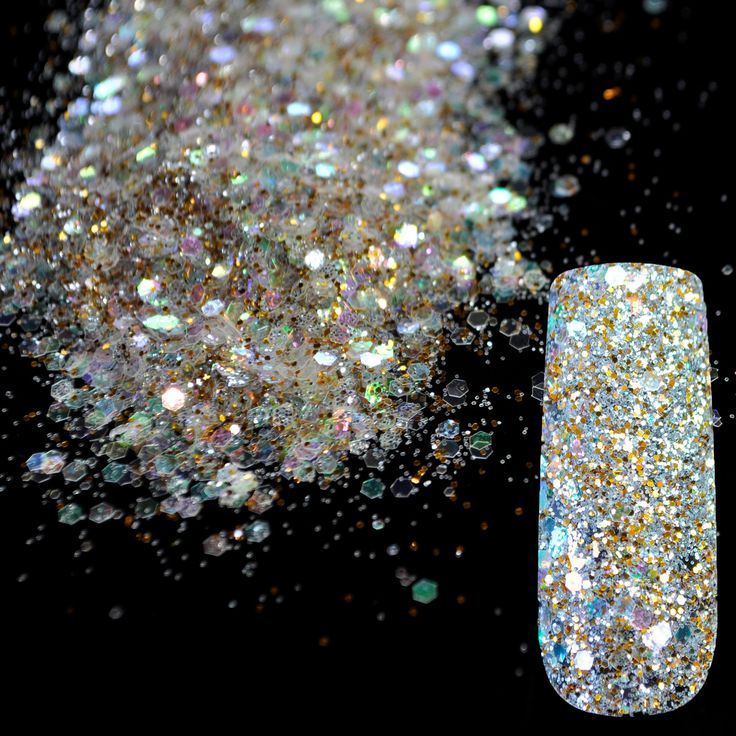 Dazzling Transparent Sequins Dust Nail Glitter Decorations //Price: $2.65 & FREE Shipping //     #hashtag3