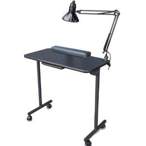 1009 best manicure tables images on pinterest for Folding nail technician table