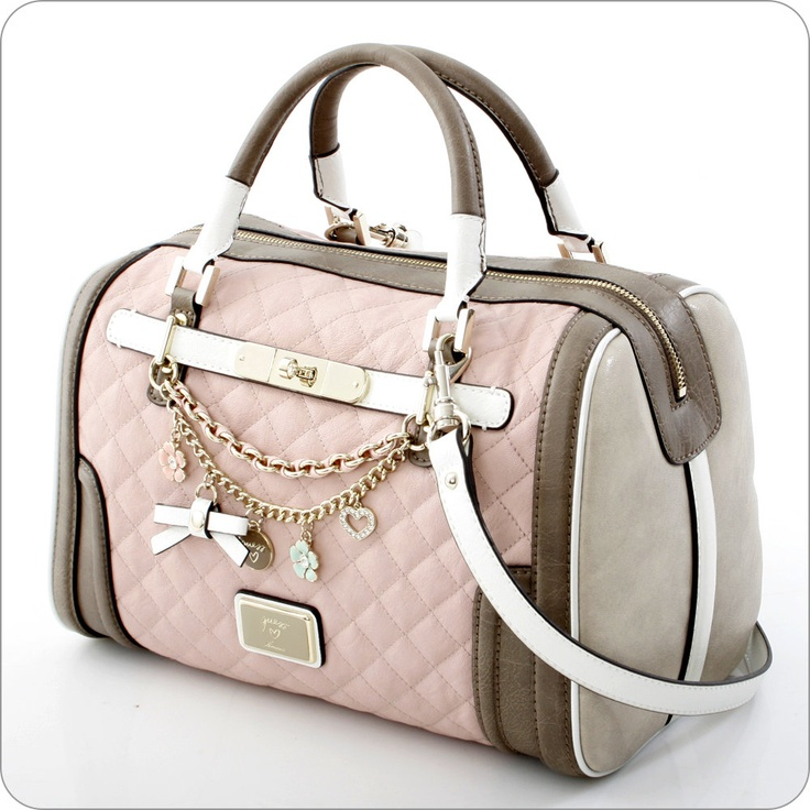 Guess Amour Box Satchel In Rose My Xmas Gift Hope So