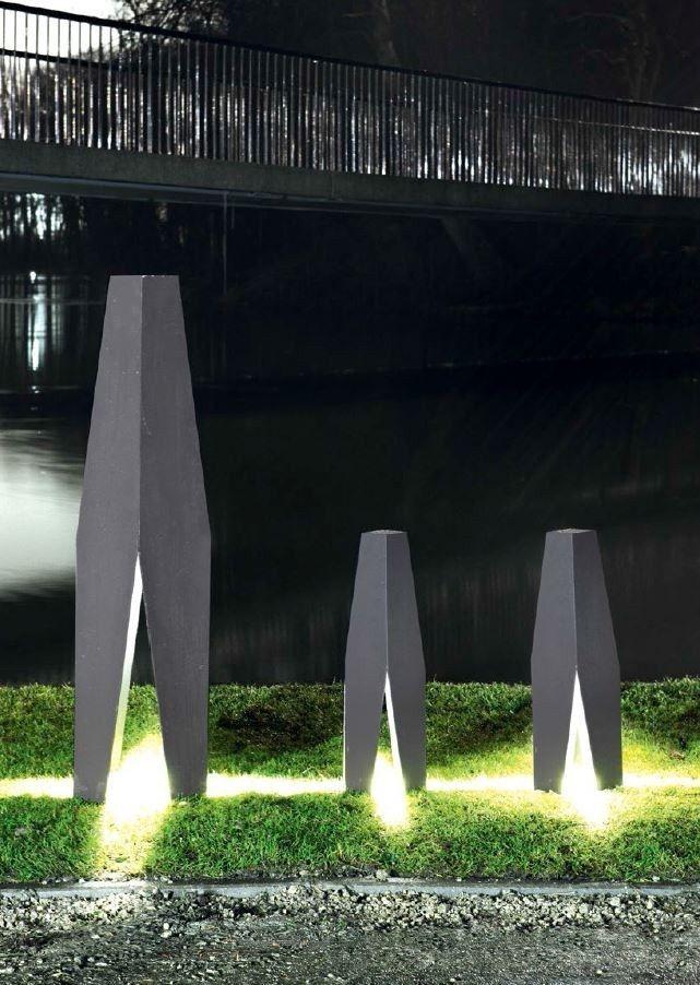 LED aluminium Bollard #light ALICE by Wever & Ducré | #design Joel Hesselgren