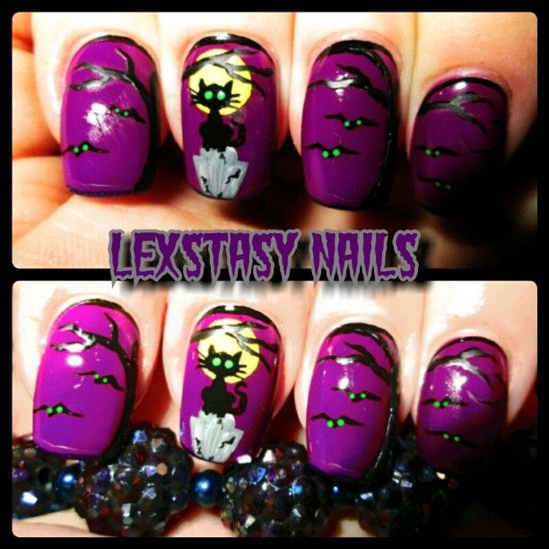 halloween  by lexstasynails #nail #nails #nailart
