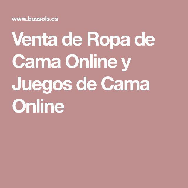 Venta de Ropa de Cama Online y Juegos de Cama Online