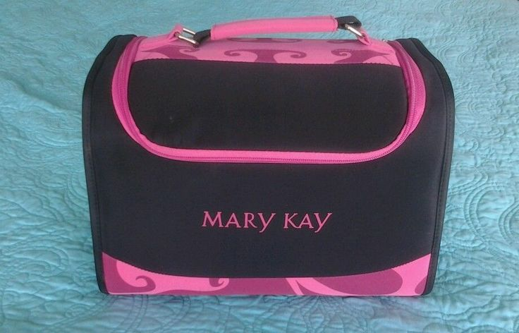 Mary kay cosmetic, travel, make up bag! Pink/ black call or text Gina Snead 4135520125