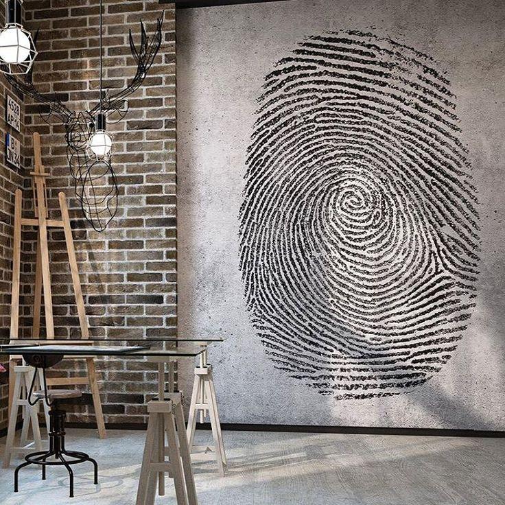 Обои Fingerprint 4 в интерьере.  Подробнее обо всем у нас на сайте Ffactura.ru  #factura #wall #wallpaper #paper #interior #designer #art #painter #paint #room #3d #livingroom #kitchen #house #designinterior #дизайнквартиры #дизайнинтерьера #дизайнпроект #хипстер #фэшен #fashion #spb #saintpetersburg #piter #ремонт #мебель #интерьерныйсалон #гостиная #прихожая #обои