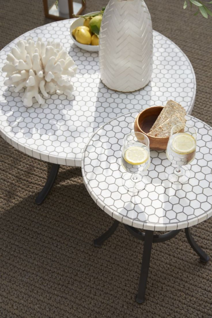 Shopping A Pure Marble Coffee Table Perfect For The Balcony Home Decor Singapore Tile Patio Table Mosaic Patio Table Tiled Coffee Table [ 1103 x 736 Pixel ]