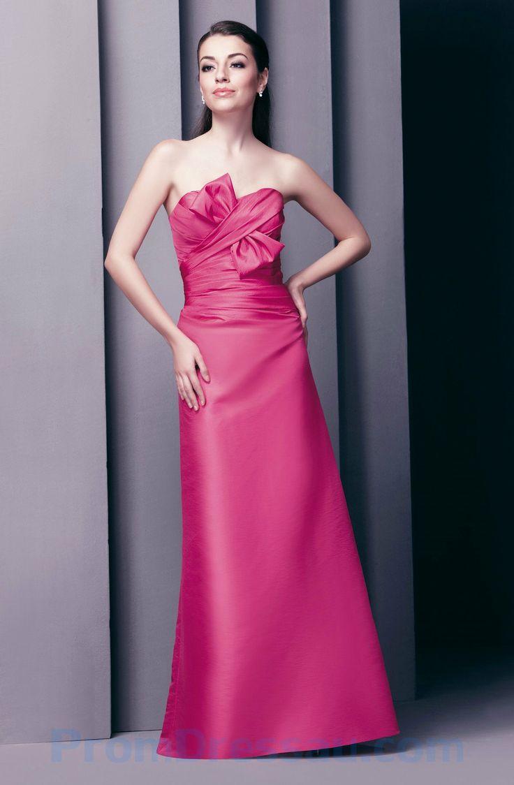 The 25 best fuschia bridesmaid dresses ideas on pinterest fuscia bridesmaid dress strapless ruched fuschia long bridesmaid clothing ombrellifo Image collections