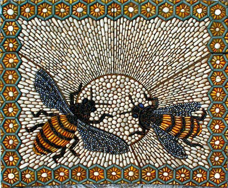 Stunning Work In The Ancient Art Of Pebble Mosaics