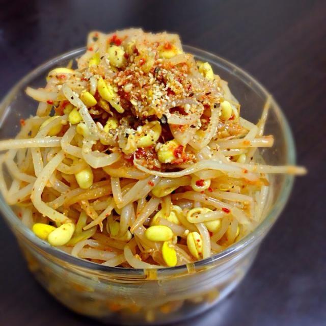 これだけは完璧に美味しく作れる!ヽ(•̀ω•́ )ゝ✧ - 14件のもぐもぐ - 定番豆もやしナムル! by etzco sasaki