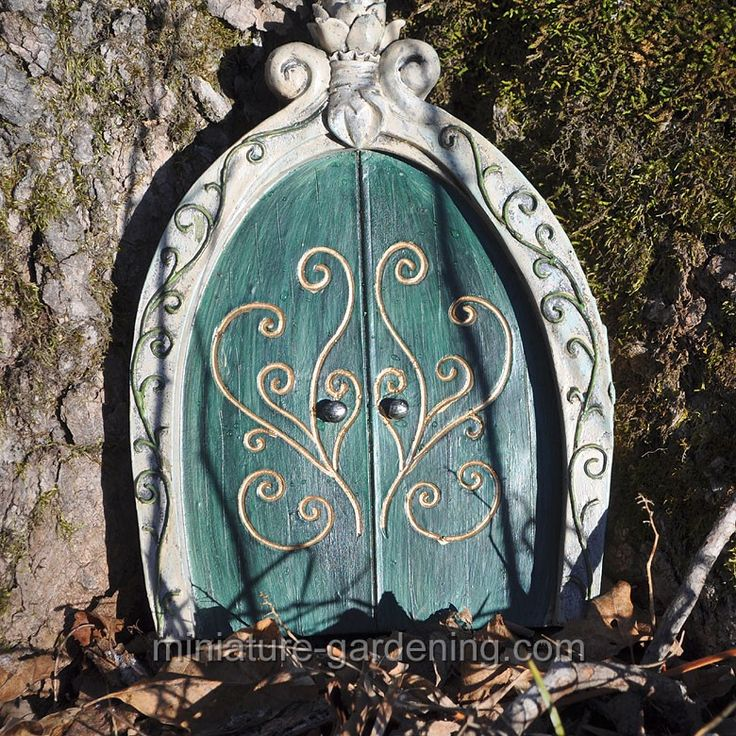 Gnome Door, Green - $15.99 For creating doors in your trees
