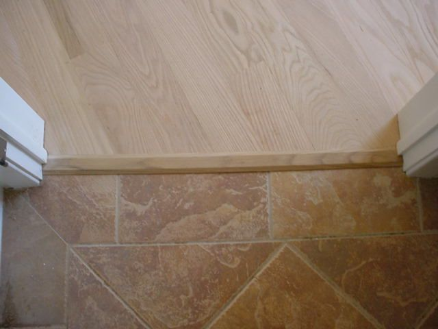 Hardwood To Tile Transition For The Home Flooring