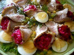 Smaczna Pyza: Schab w galarecie z sałatką z ćwikłą - http://smacznapyza.blogspot.com/2011/12/schab-w-galarecie-z-saatka-z-cwika.html