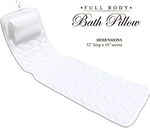 Buy BathLife Full Body Bath Pillow Deluxe Plush Quilted