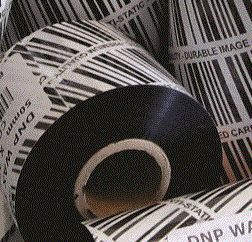 64mm X 360m premium wax INK OUT 25mm core @Spec Systems - TR4085plus thermal transfer ribbon has a combination of features that make it an outstanding all-around performer. #thermal #transfer #ribbon