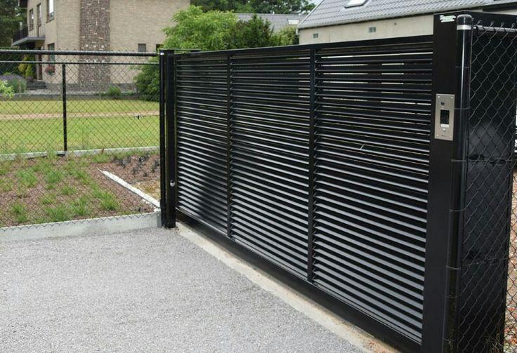 Meer dan 1000 idee n over metalen tuinhekken op pinterest tuin poorten metalen bloemen en poorten - Tuin oprit plaat ...