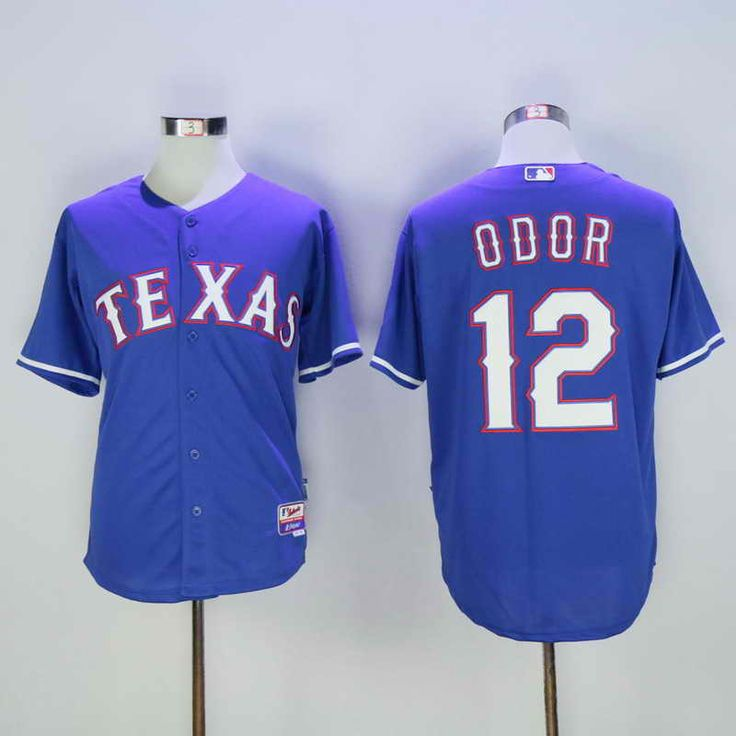 188b0d667 12 Royal Authentic Texas Rangers Baseball Jersey 21 Texas Rangers 12  Rougned Odor Red Majestic Baseball MLB Stitched Mens Jersey Jerseys  Pinterest Texas ...