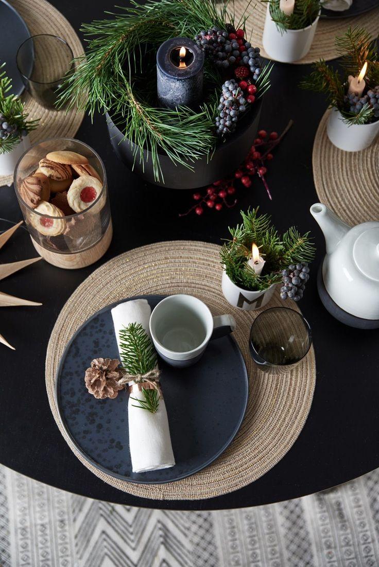 Becher M Scandi Christmas! Vereinen sich traditionelle