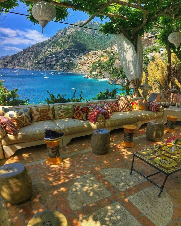 """""""Villa Treville Positano Italy  #Positano #italy #villatreville""""                                                                                                                                                                                 Más"""