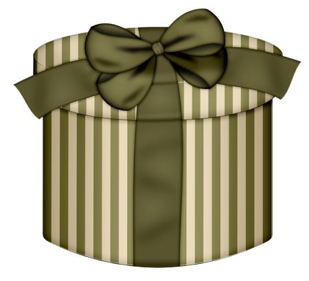 The 131 best gift boxes images on pinterest gift boxes wine gift cream round gift box with gren bow clipart negle Image collections