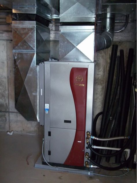 WaterFurnace geothermal installation. Air-ease Heating and Cooling
