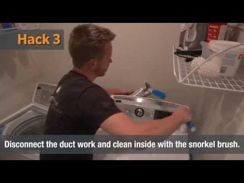 Washer & Dryer Maintenance | Home Hacks - YouTube