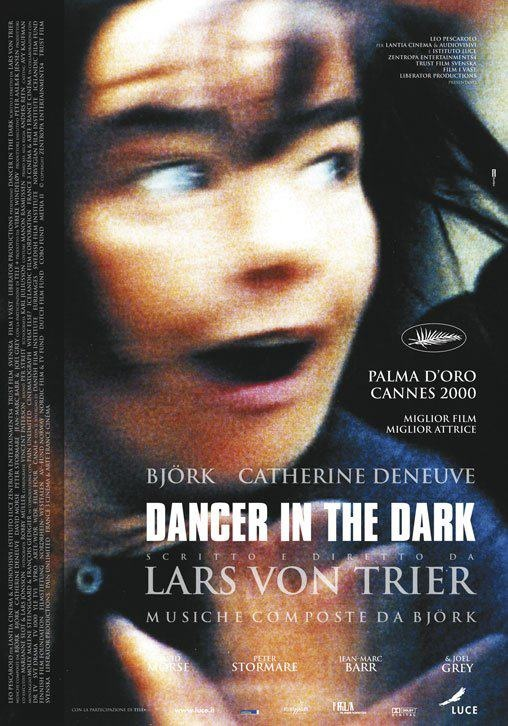 Dancer in the Dark - Lars von Trier - 2000 - starring Björk,Catherine Deneuve, David Morse and Peter Stormare - Italian poster