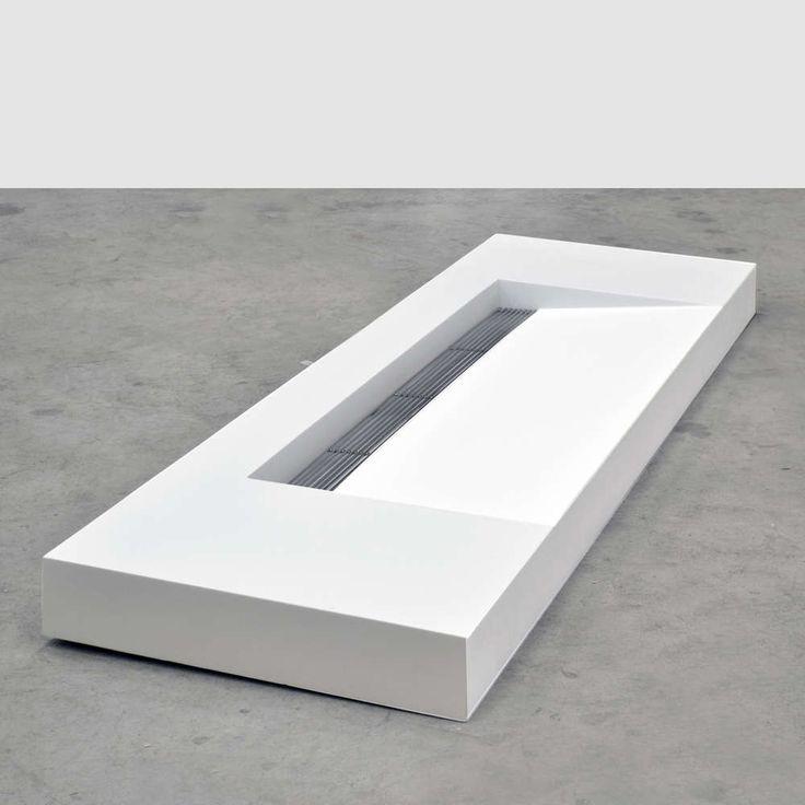 Wastafel Kappa, dubbele Solid Surface Wastafel