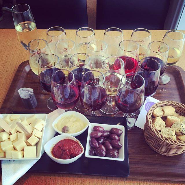 #Wine tasting. Just enjoy it! #Santorini Photo credits: @k8hollowood