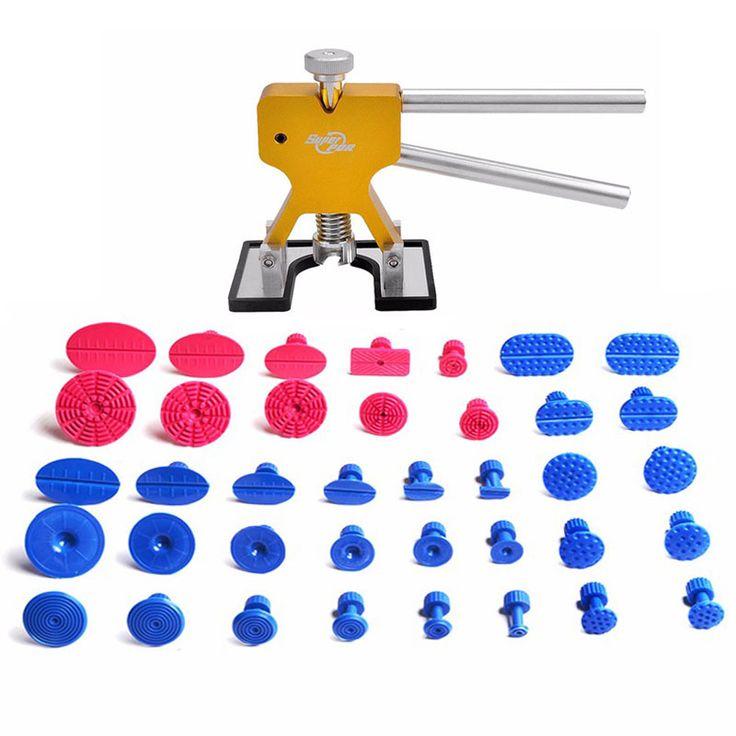 Mejores Herramientas PDR de Abolladuras Sin pintura para Reparación Herramientas de Eliminación de Abolladuras Dent Puller Dent Lifter Hand Tool Set Kit de Herramientas PDR Tabs Ferramentas
